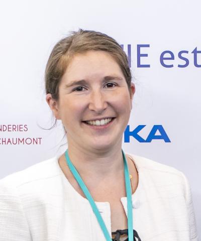 Portrait d'Anne-Laure Makinsky nommée déléguée générale par les administrateurs de l'UIE