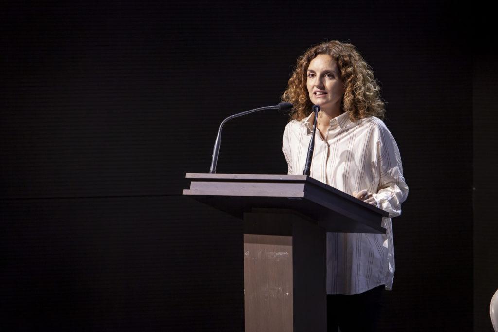 Photo de Solène Le Fur, directrice générale de l'Astee introduisant cette matinée technique