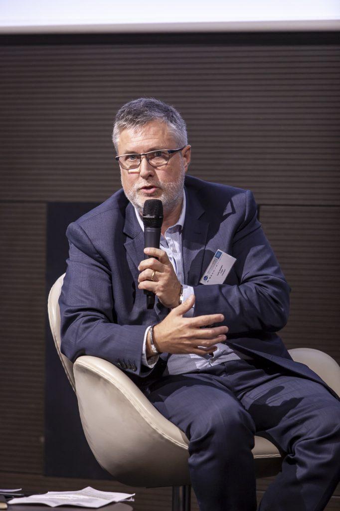 Photo de Luc Manry, président d'ITSEP